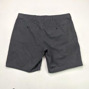 Hurley Shorts - Hurley Walk Shorts Mens Size 38 Charcoal Gray